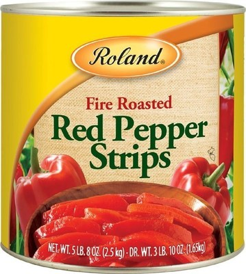 Roland(R) Fire Roasted Red Pepper Strips. Recalled lots: 427, 428, 432, 437