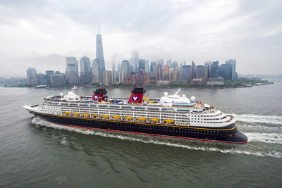 Disney Cruise Line returns to New York City in fall 2017 with a mix of voyages to the Canada coast and the Bahamas, which includes a stop at Disney's private island, Castaway Cay. (Chloe Rice, photographer).