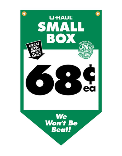 Moving Box Prices Slashed by U-Haul