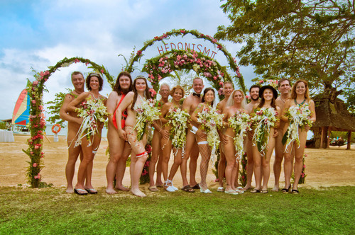 Nude weddings hedonism