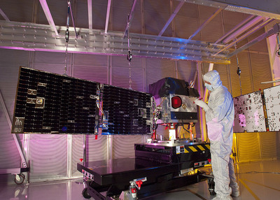 Ball Aerospace's First Standard Interface Vehicle Set to Launch.  (PRNewsFoto/Ball Aerospace & Technologies Corp.)