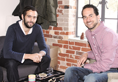 BeachMint Founders Josh Berman and Diego Berdakin.  (PRNewsFoto/BeachMint)