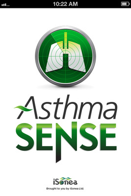 iSonea launches AsthmaSense™, a new asthma management app, for iPhone, iPad and Android users. The AsthmaSense app records and tracks symptoms, lung function tests, asthma events and medications.