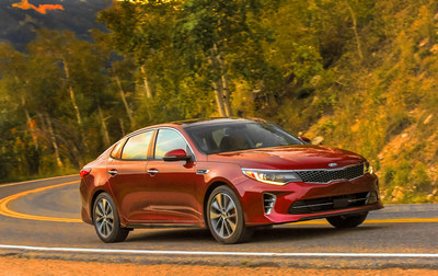 Kia Motors America announces pricing of all-new 2016 Optima