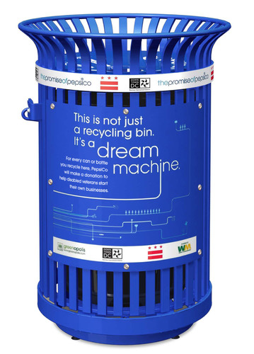 Nation's Capital is First City to Partner with PepsiCo Dream Machine Recycling Initiative,