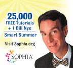 Sophia and Bill Nye