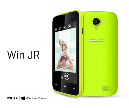Win JR 3 (PRNewsFoto/BLU Products)