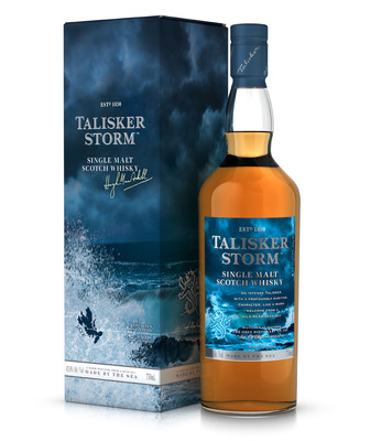 Batten Down The Hatches -- Talisker Storm(TM) Arrives in the United States  (PRNewsFoto/Diageo)