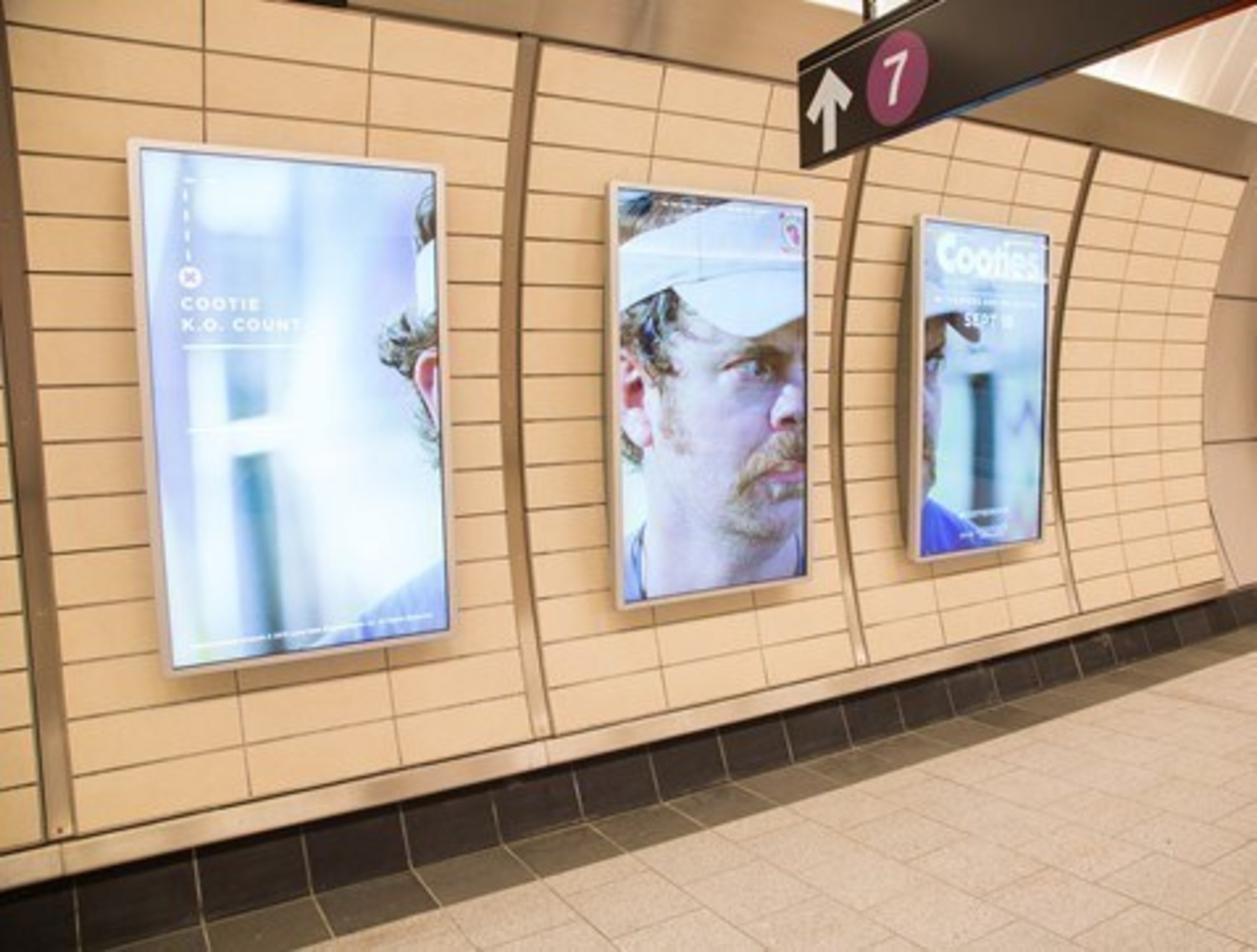 OUTFRONT Media Launches Dynamic Cloud-Based Digital Out-of-Home Signage at New 34th Street - Hudson Yards Station