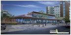 Rendering of the 30,000 square foot Public Market, scheduled to break ground in downtown Atlantic City late 2014. (PRNewsFoto/CRDA; Atlantic City Alliance)