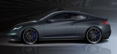 Genesis Hurricane SC-HATCI and Magnuson Supercharge the Hyundai Genesis Coupe for 2011 SEMA Show.  (PRNewsFoto/Hyundai Motor America)