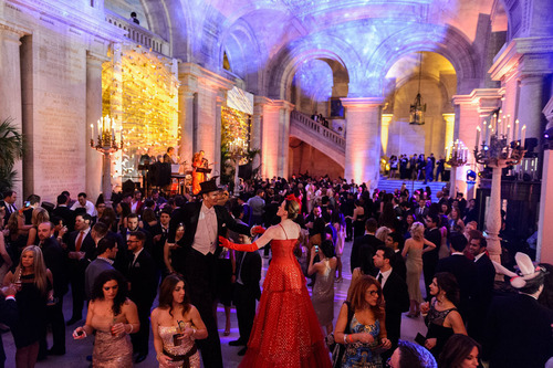 Manhattan Cocktail Classic's Kick-Off Gala at The New York Public Library.  (PRNewsFoto/Manhattan Cocktail ...