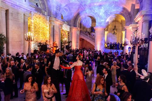 Manhattan Cocktail Classic's Kick-Off Gala at The New York Public Library. (PRNewsFoto/Manhattan Cocktail ...