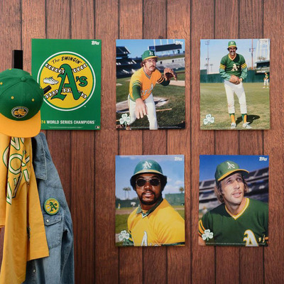 Topps Archive Collections are inspired by the greatest teams and most memorable moments in America's national pastime. This limited edition collection is a must-have for all true Athletics fans. View more at Topps.com.  (PRNewsFoto/The Topps Company, Inc.)