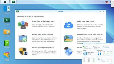 DSM (DiskStation Manager) 5.1 beta (PRNewsFoto/Synology Inc.)