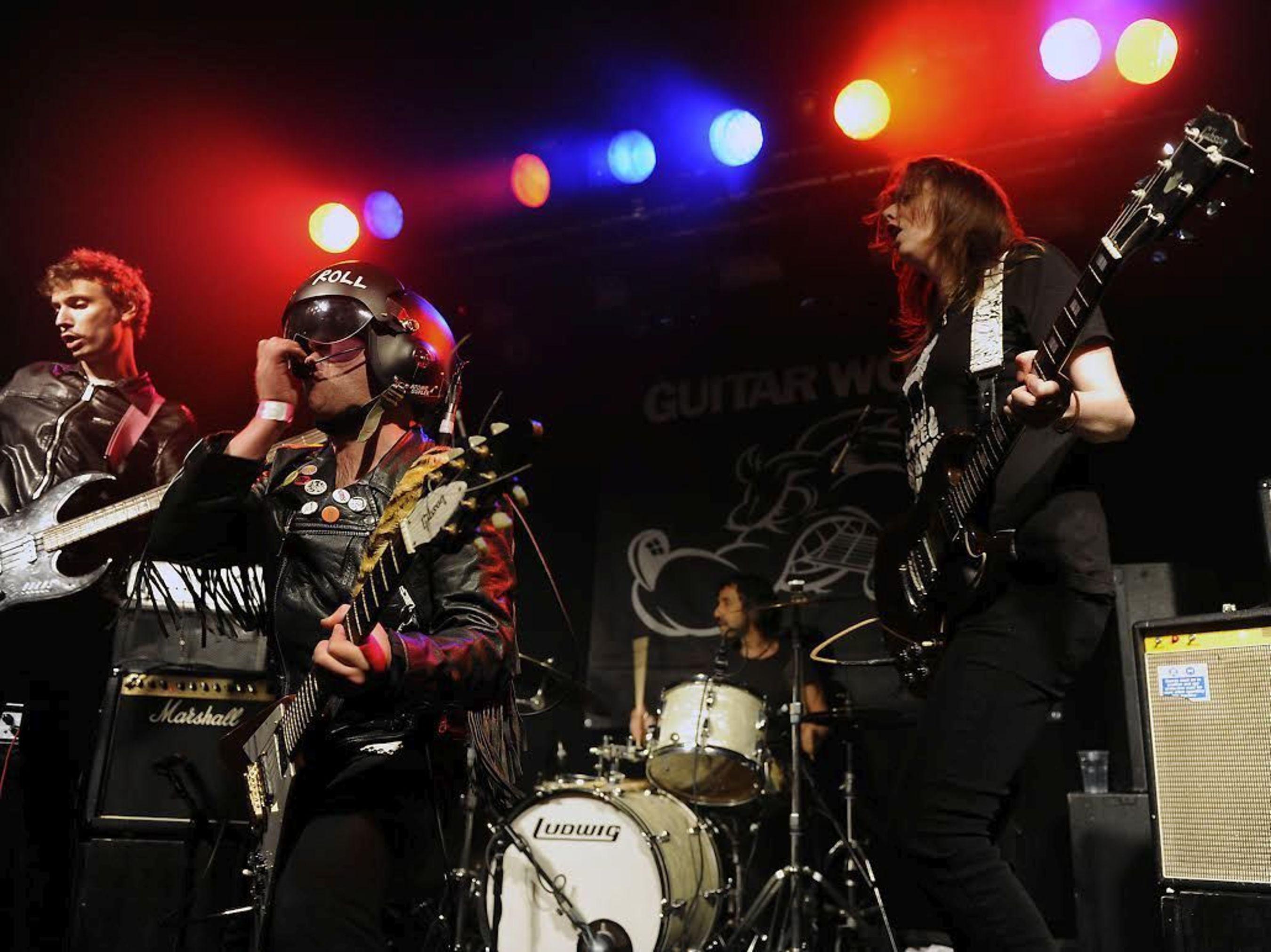 Atomic Suplex Live! (PRNewsFoto/Dirty Water Records)