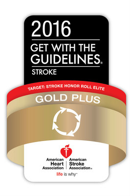 Houston Methodist Willowbrook Hospital has received the American Heart Association/American Stroke Association's Get With the Guidelines-Stroke Gold Plus Quality Achievement Award with Target: Stroke Honor Roll Elite.