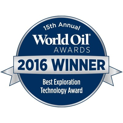 Paradigm EarthStudy 360 wins the Best Exploration Technology award.