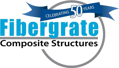Fibergrate 50th Anniversary Logo