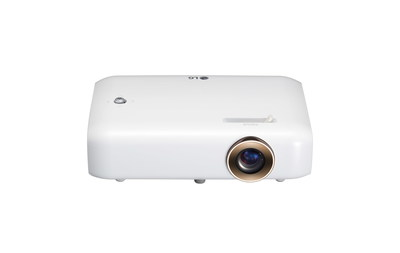 The all-new compact PH550 represents the latest projector to be introduced in the LG Minibeam series.