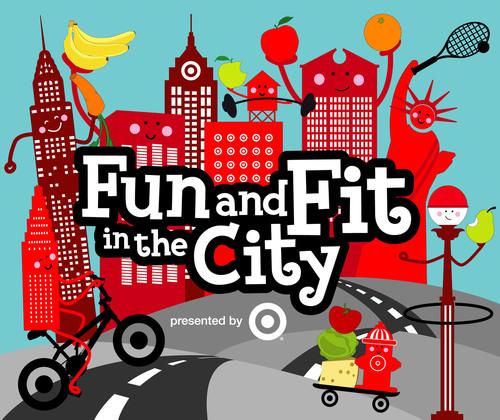 Fun & Fit in the City logo.  (PRNewsFoto/Food Network New York City Wine & Food Festival)