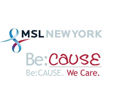 MSL New York Be:CAUSE Logo.  (PRNewsFoto/MSLGROUP)
