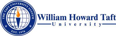 The William Howard Taft University logo.  (PRNewsFoto/William Howard Taft University)