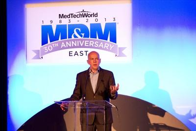 One of over 80 presentations at the largest medtech conference on the east coast (PRNewsFoto/UBM Canon)