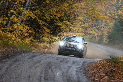 This past weekend at the Lake Superior Performance Rally (LSPR), Ryan Millen, Christina Fate, and their capable Rally RAV4 secured a solid second place finish in the 2WD Class for the Rally America national championship.