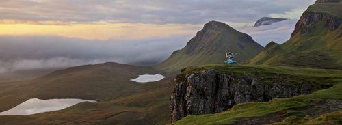 Isle of Skye 'virtually' twins with Skylands, home of Skylanders SWAP Force Wash Buckler at landmark the ...