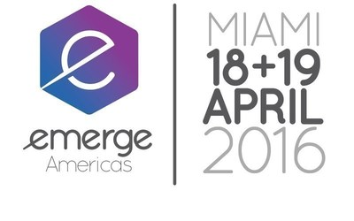 eMerge Americas, April 18-19, 2016 in Miami