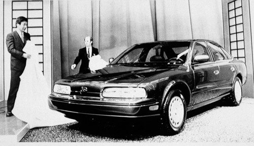 Infiniti Marks 25th Anniversary of Official Brand Announcement at 1989 North American International Auto Show. ...