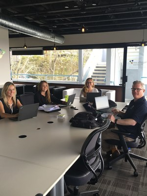 Some of OpTerra San Diego's regional team based out of the new OpTerra office in Solana Beach.