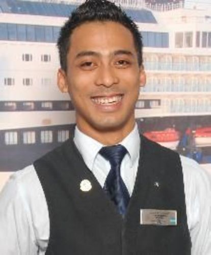 Agus Gandu Adyana will represent Celebrity Cruises at the Diageo Reserve World Class Global Travel semi-final