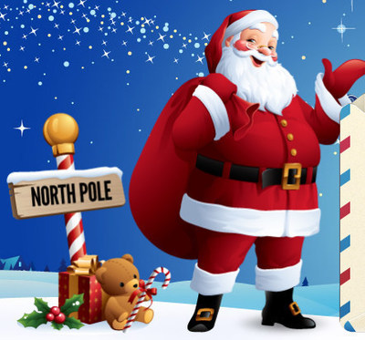 Personalize letter from Santa sent directly to your child at your home