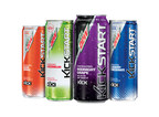 MTN DEW KICKSTART expands product lineup with introduction of four bold new flavors - Midnight Grape, Watermelon, Blueberry Pomegranate and Blood Orange.