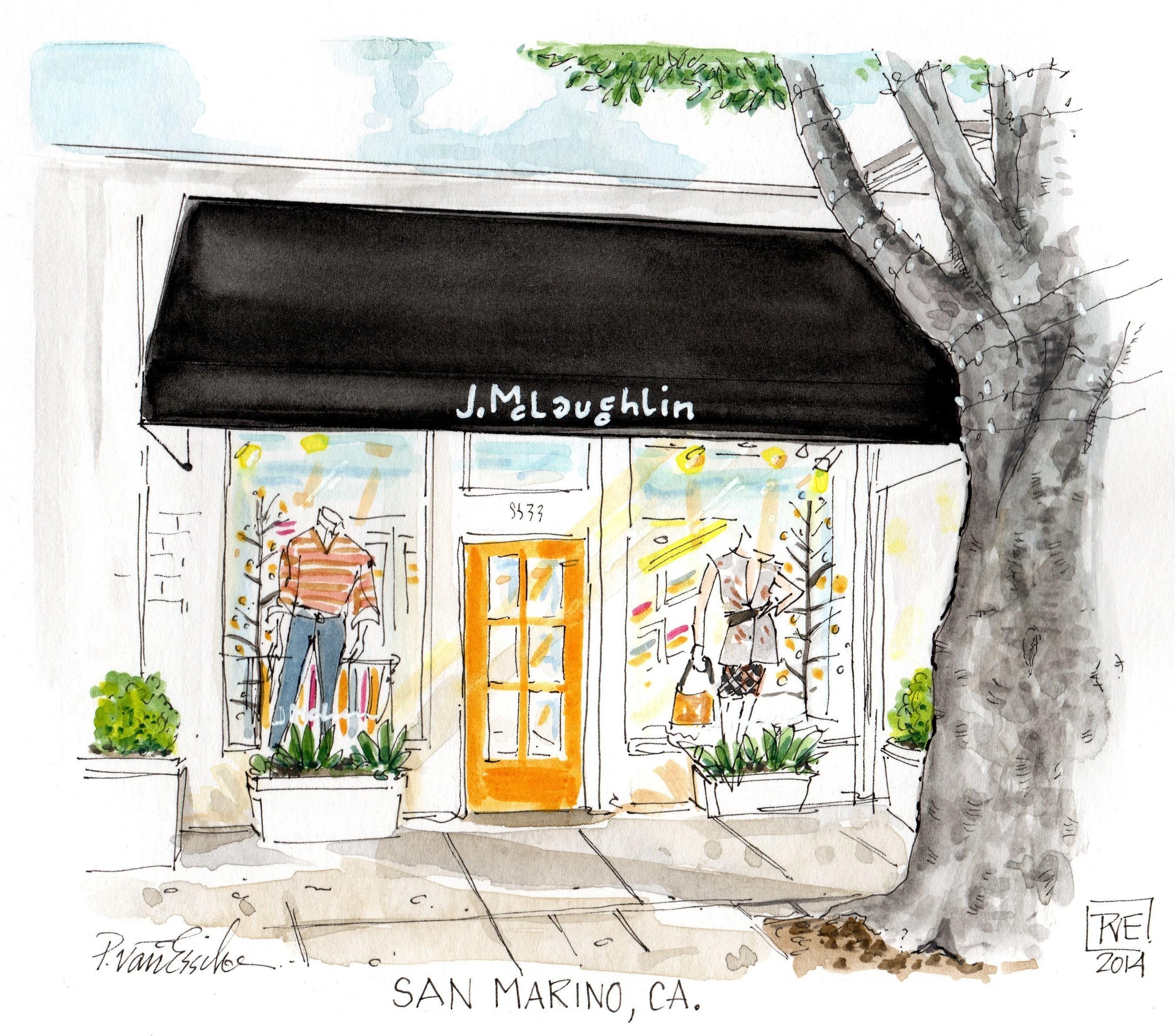 J.McLaughlin San Marino, CA Boutique.