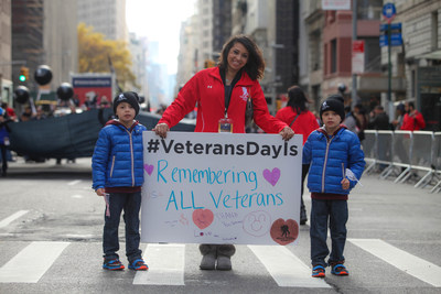 Wounded Warrior Project participates in 2015 New York City Veterans Day Parade