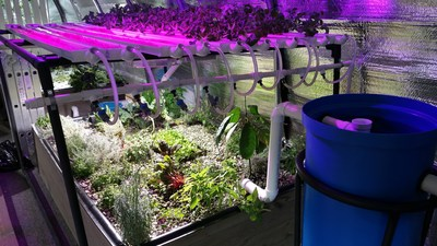 Zoetic commercial aquaponics showcased at the 100th Annual Pennsylvania Farm Show
