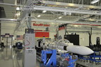 A Raytheon built SM-6 missile assembled at the state-of-the-art factory in Huntsville, Ala.