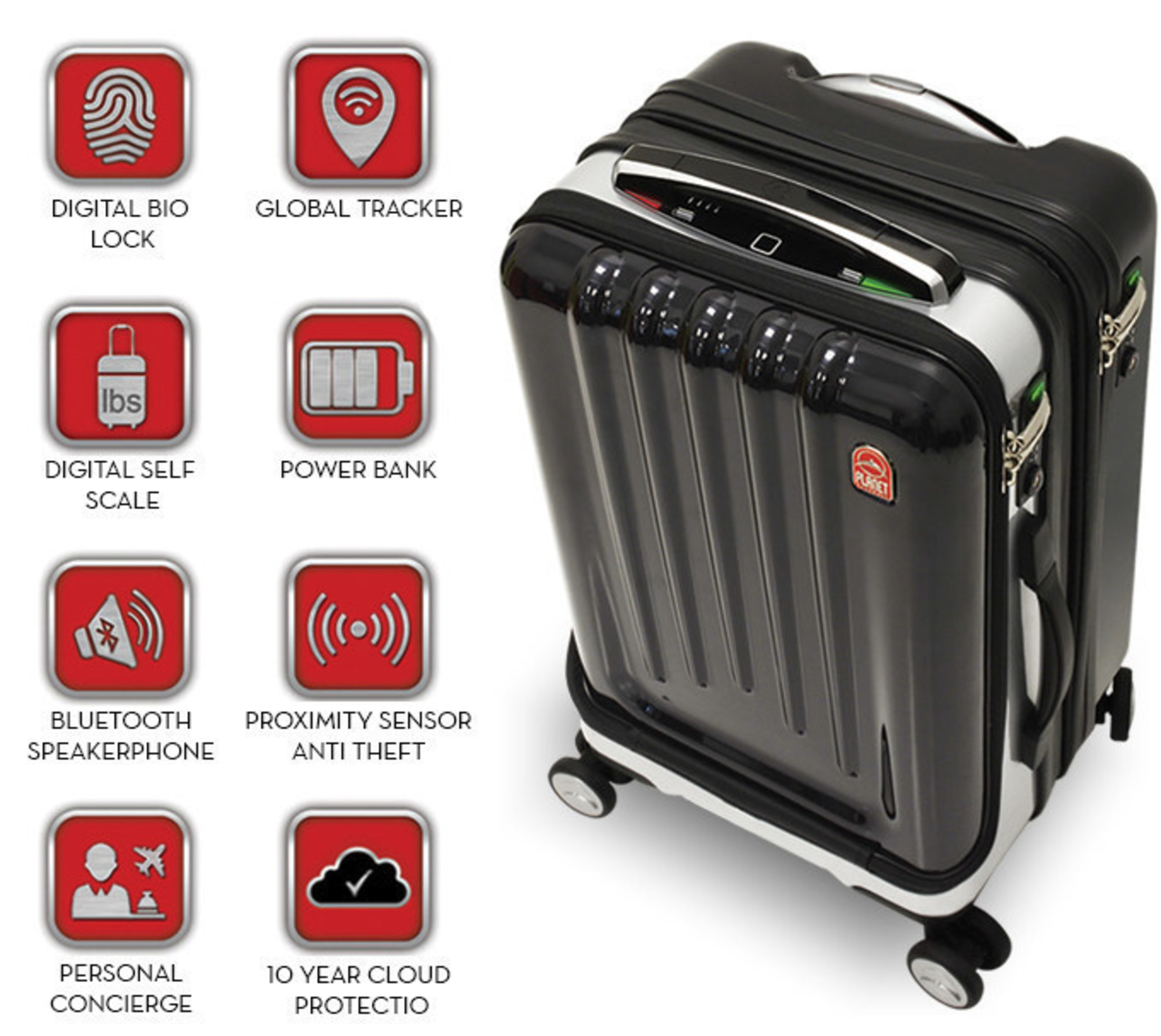 Space Case 1 - The world's most advanced line of smart luggage set to 'launch' June 1st