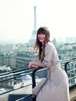 Caroline de Maigret Lancome's new Parisian muse. Copyright: Nico for Lancome (PRNewsFoto/Lancome)