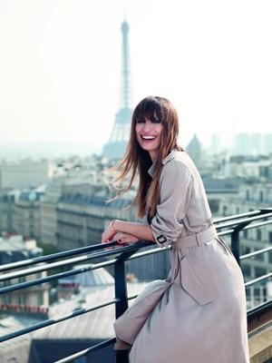 Caroline de Maigret Lancome's new Parisian muse. Copyright: Nico for Lancome