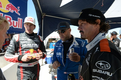 Bucky Lasek and Sverre Isachsen return to Red Bull GRC with Subaru. Pastrana joins select rounds in GRC and Rally America.