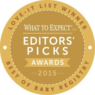 WhatToExpect.com Awards the Best Baby Registry Products.