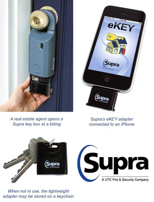 Supra Enables Real Estate Agents to Obtain Listing Keys Using Their iPhone