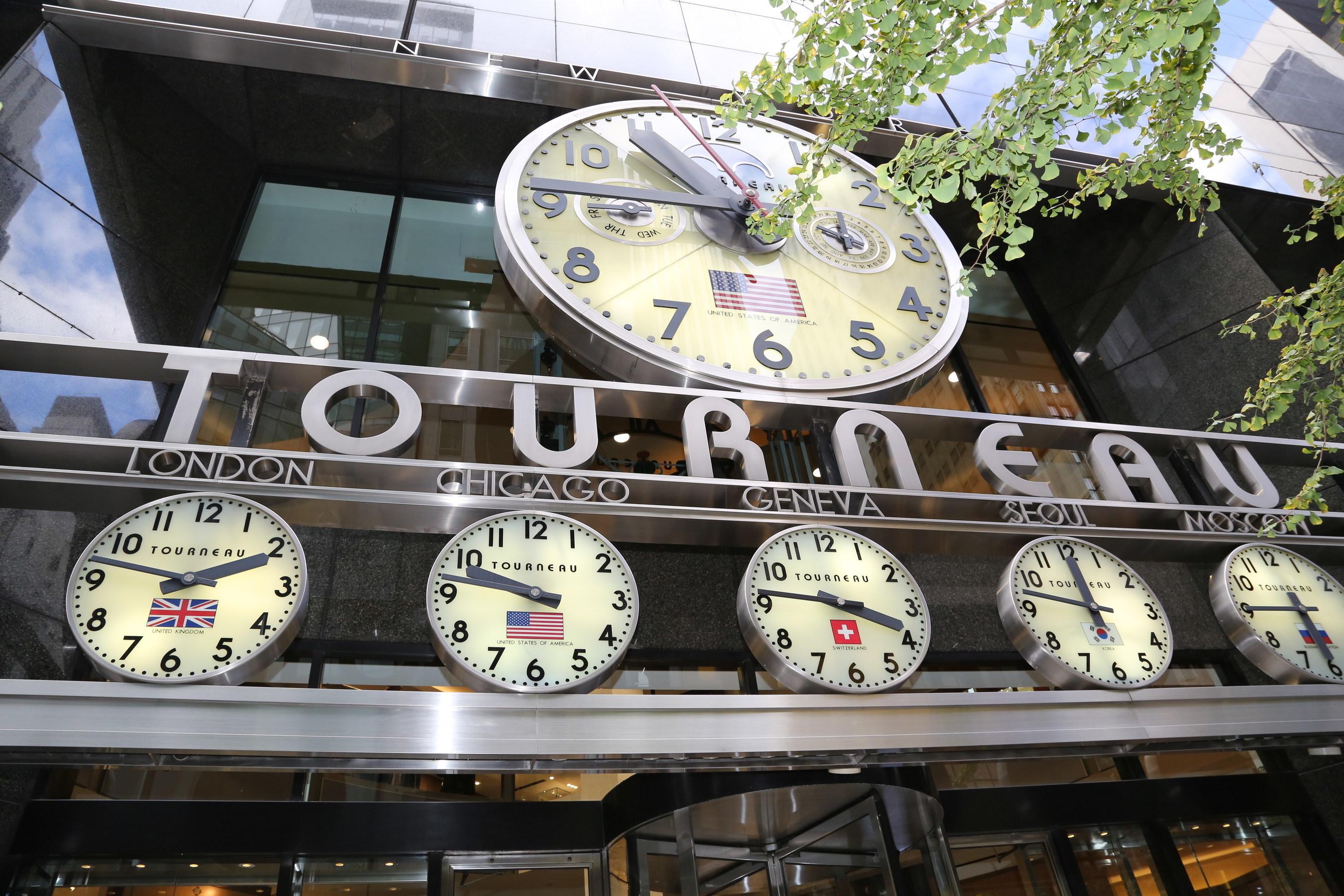 Tourneau Turns Back the Clocks for Daylight Saving Time