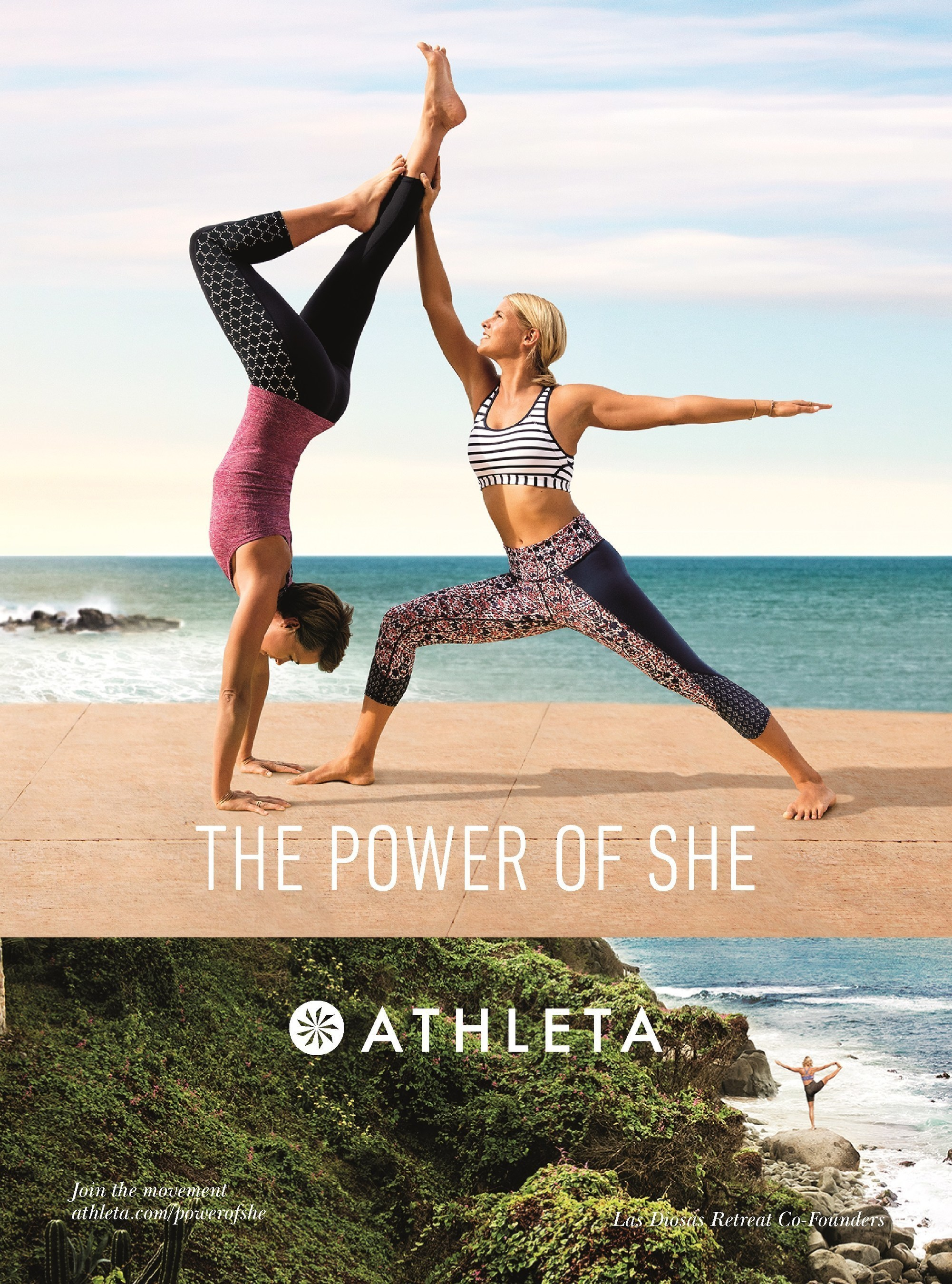 "Image from Athleta's ""The Power of She"" campaign"