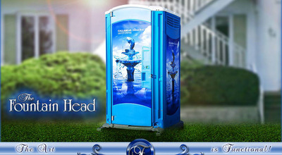 The Fountain Head Portable Toilet by CALLAHEAD. (PRNewsFoto/CALLAHEAD) (PRNewsFoto/CALLAHEAD)