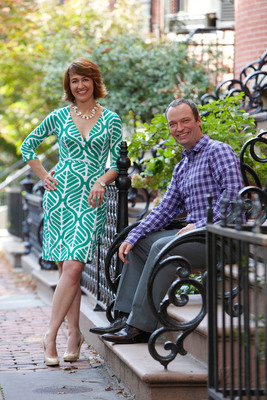 Mitra Morgan and John Mulliken of Joss & Main.  (PRNewsFoto/Wayfair.com)